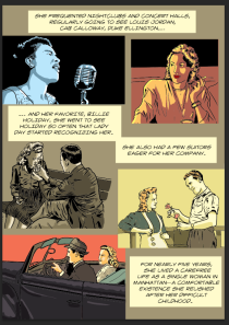 This photo shows page 63 of Stony Road, a graphic novel by Rick Stromoski and Sarah Pascarella